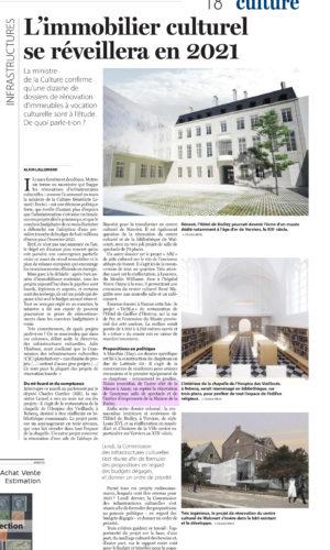 Article Le Soir 23/10/2020